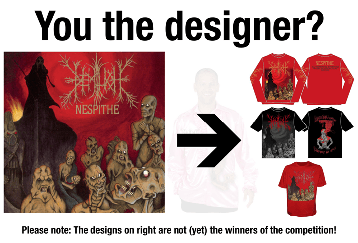 Nespithe shirt designer wanted