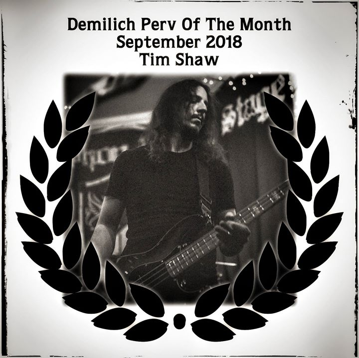 Demilich Perv of the Month, September 2018