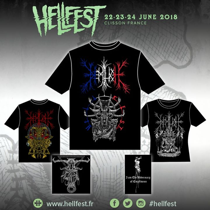Hellfest 2018 exclusive T-shirt!