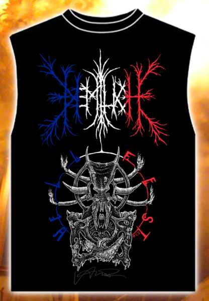 Vive l'Adversaire! tank top with signature