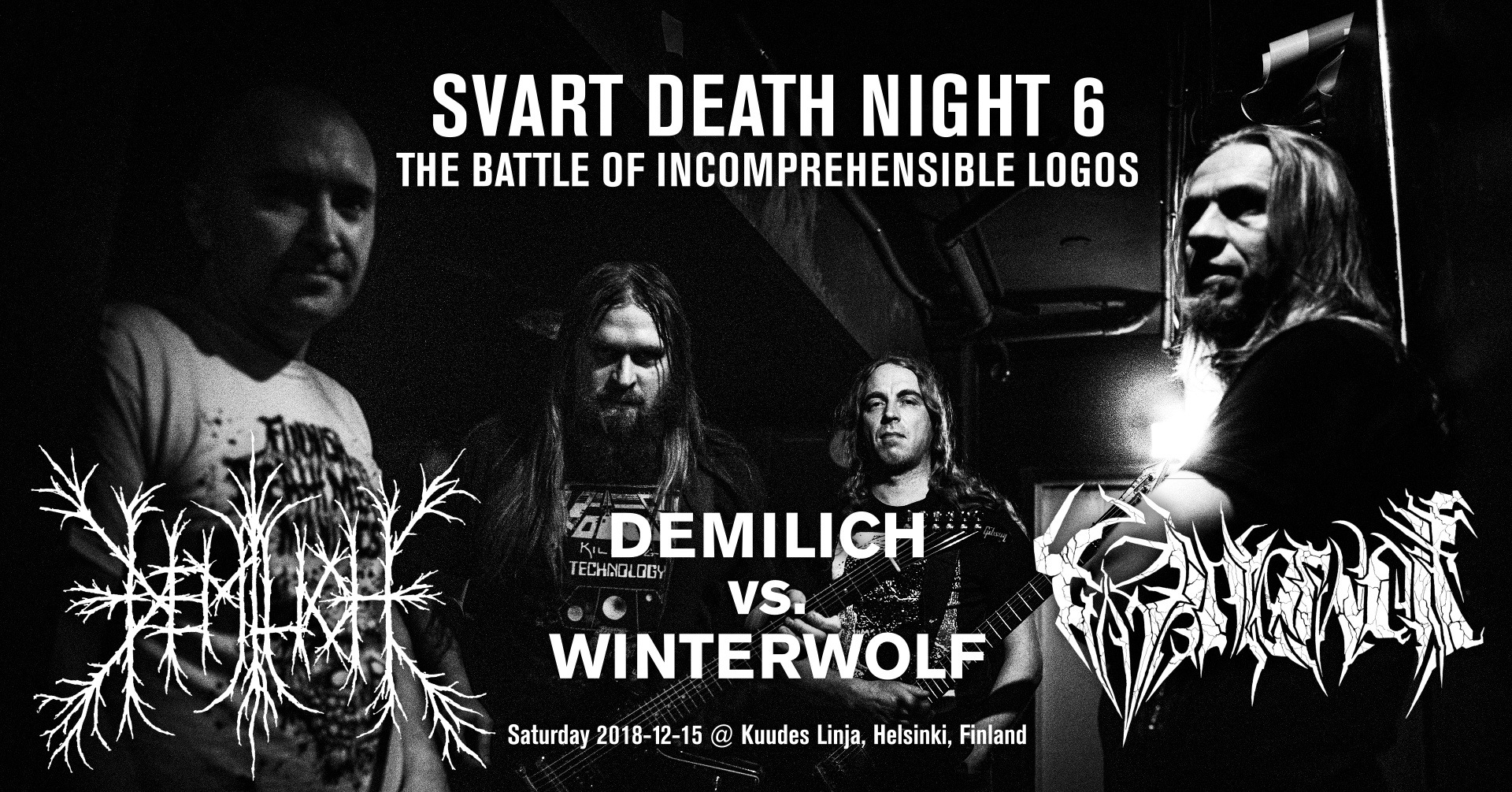 Svart Death Night 6: The Battle Of Incomprehensible Logos