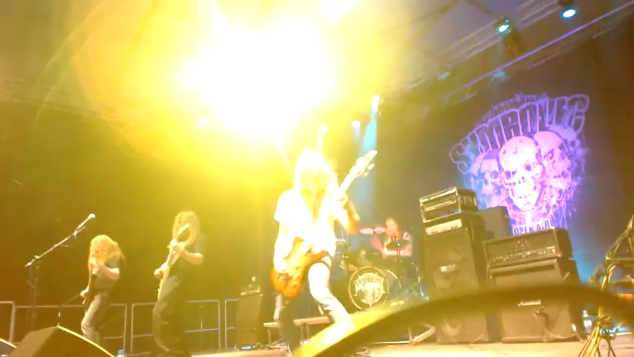 "The ""I told you to join"" clip of Demilich live show from Symbolic Open Air 2019"