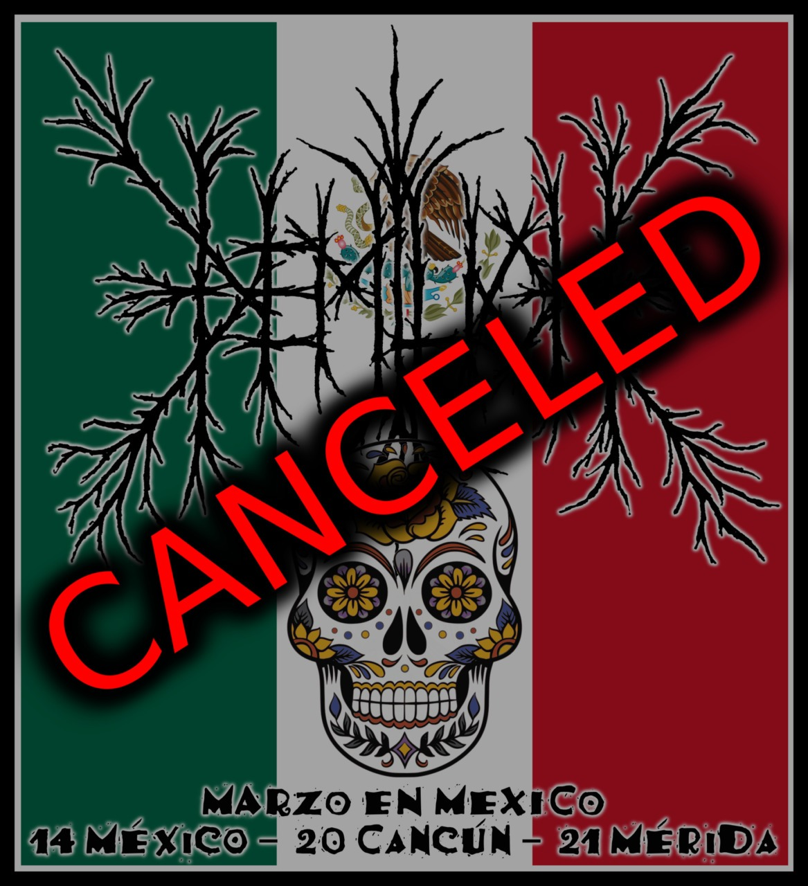 Mexico tour canceled!