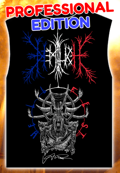 Vive l'Adversaire! tank top with signature – Professional Edition