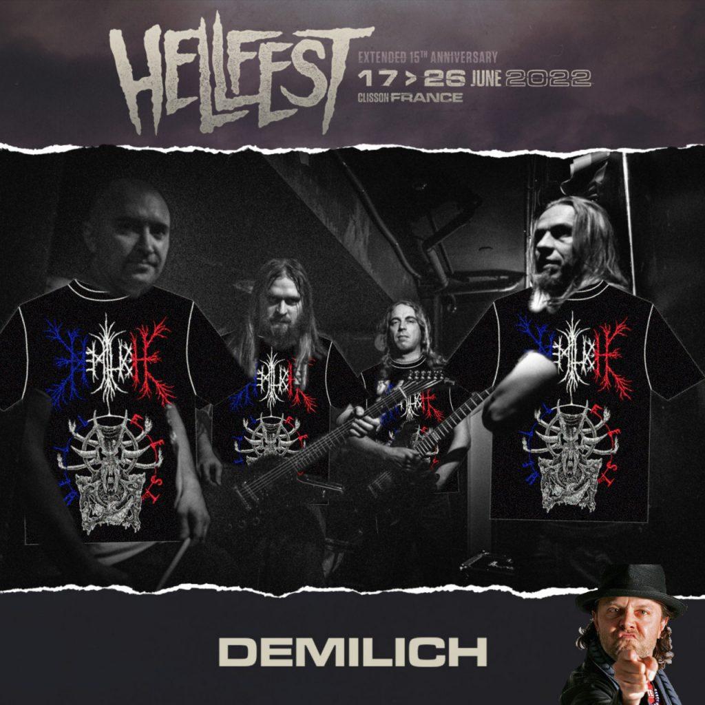 Hellfest 2022 announcement, the Demilich way
